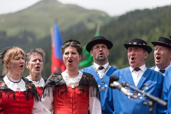 Yodeling Contest in Bavaria